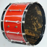 Black Head Bass Drum copy