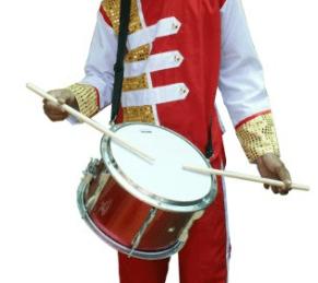 harga 1 set peralatan drumband terbaru
